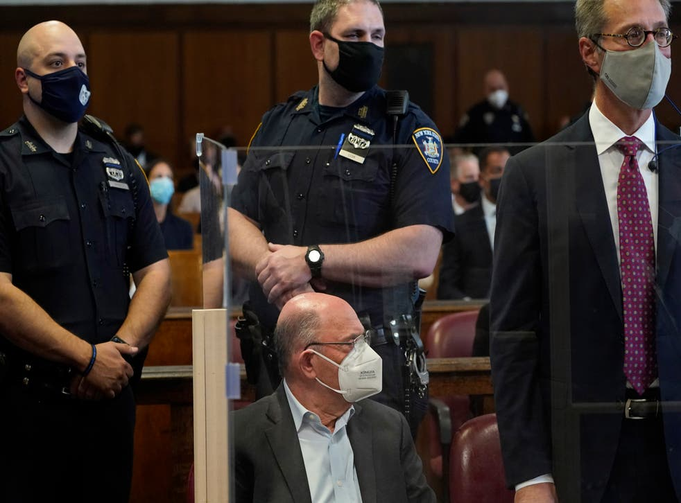 <p>The Trump Organization's Chief Financial Officer Allen Weisselberg appears in court in New York, Thursday, July 1, 2021. Weisselberg was arraigned a day after a grand jury returned an indictment charging him and Trump's company with tax crimes. Trump himself was not charged.  </p>