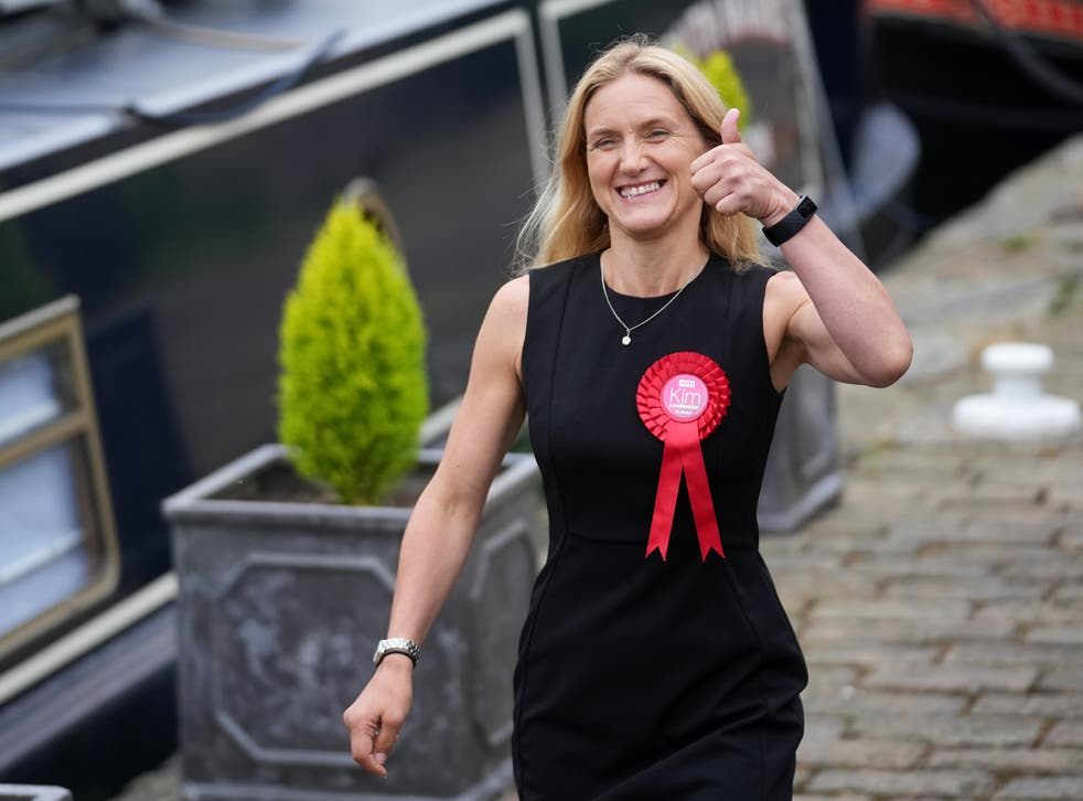 <p>When Leadbeater was asked whether Starmer had been a help or a hindrance, she said 'the focus of the campaign was very much listening to local people'</p>
