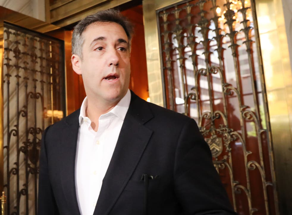 <p>Michael Cohen, the former personal attorney to President Donald Trump, prepares to speak to the media before departing his Manhattan apartment for prison on 6 May, 2019 in New York City. Cohen has said the charges against the Trump Organization and its CFO are just the 'tip of the iceberg'.</p>