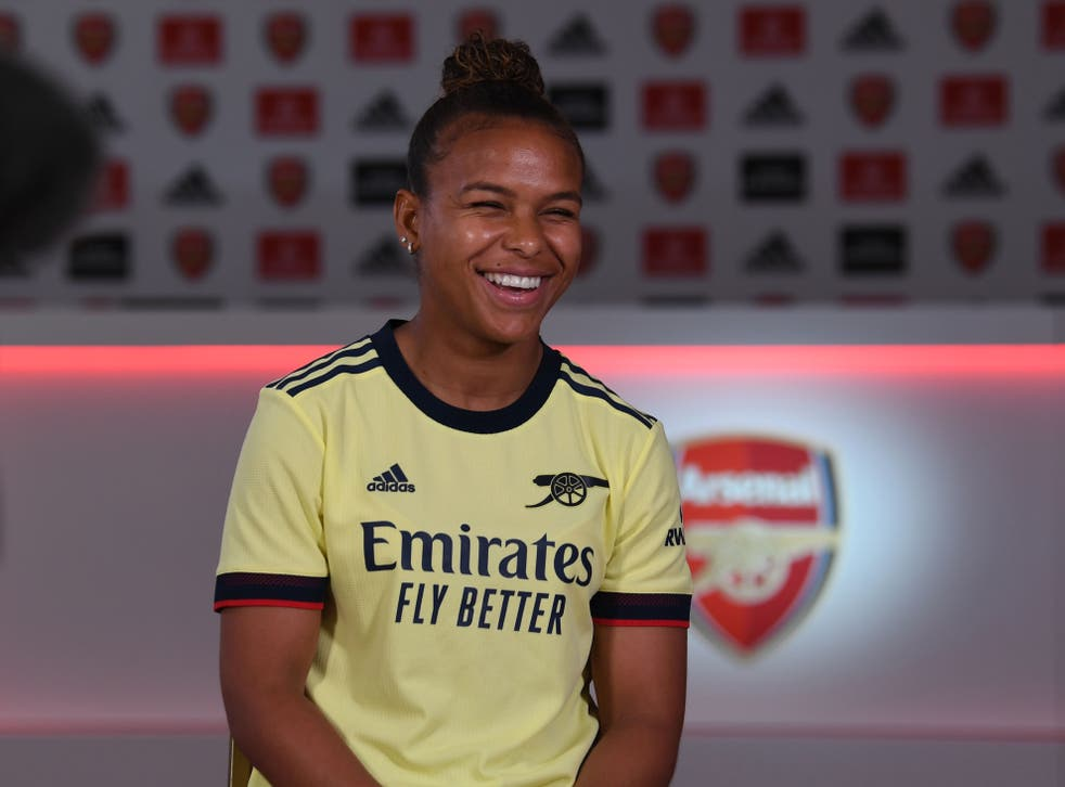 <p>Parris joins Arsenal from Lyon</p>