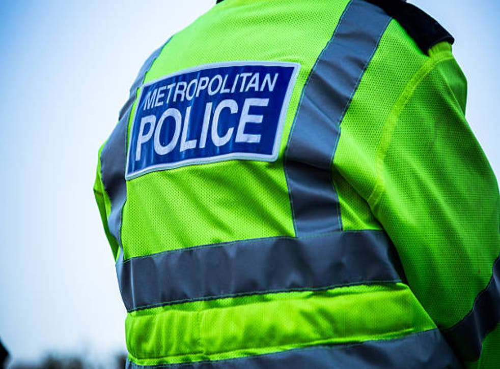 <p>Police said that they arrived at the scene to find the man in 'clear distress'</p>