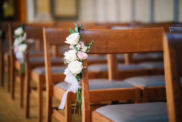 <p>The couple had been engaged since 2019 and planned to wed in mid-July, but brought forward the wedding date in light of a terminal diagnosis</p>