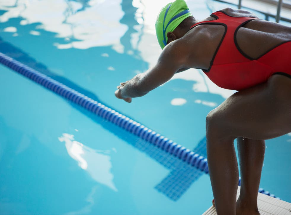 """<p>A Black-owned swimming cap brand created for natural <a href=""""/topic/hair"""">hair</a> has been denied certification for use by <a href=""""/topic/athletes"""">athletes</a> at the Olympics</p>"""