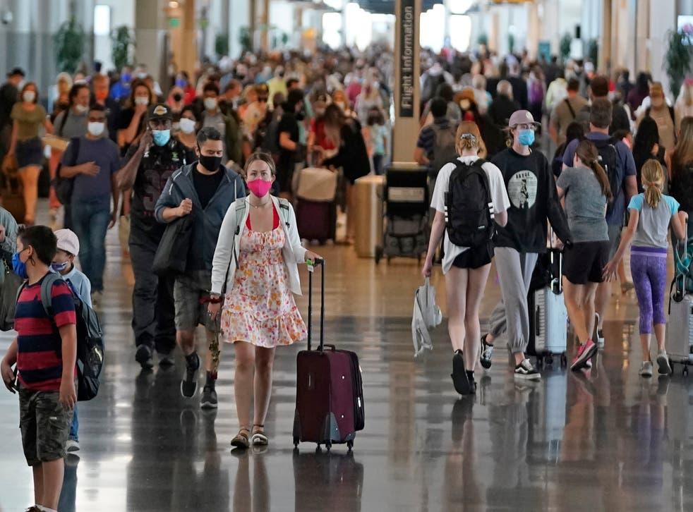 Virus Outbreak Holiday Travel