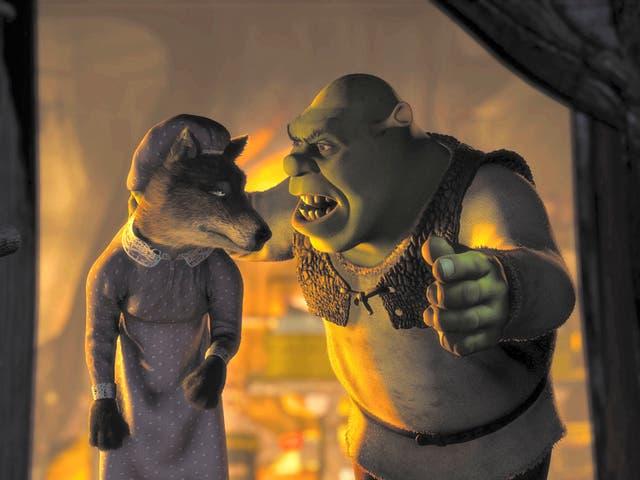 <p>'Shrek' was released in 2001</p>