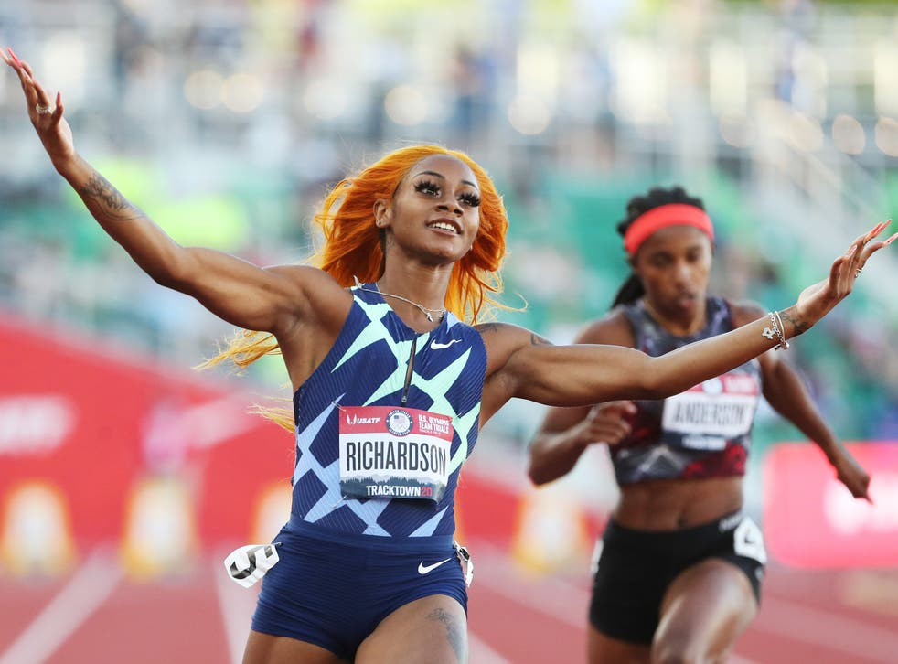 <p>US sprinter Sha'Carri Richardson won't be competing in the Tokyo Olympics, after being left off the roster following a positive test for marijuana.</p>
