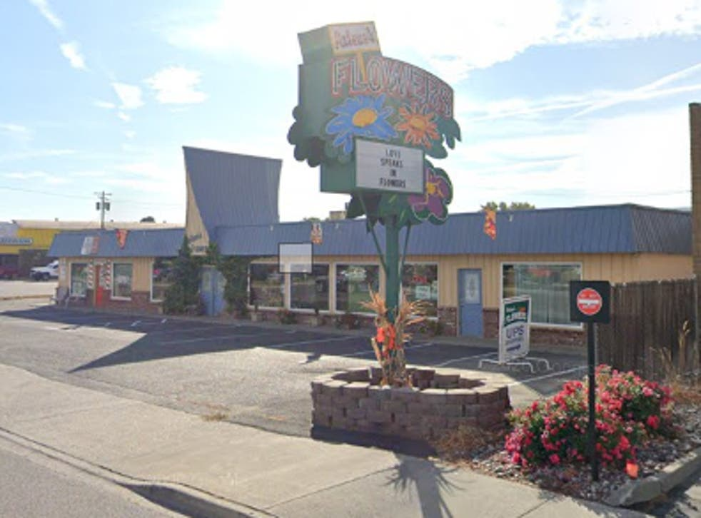 <p>Arlene's Flowers in Washington state. The owner of the flower shop was sued for denying service to a gay couple for their wedding.</p>