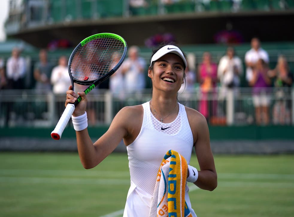 Emma Raducanu will play her third-round match on Court One
