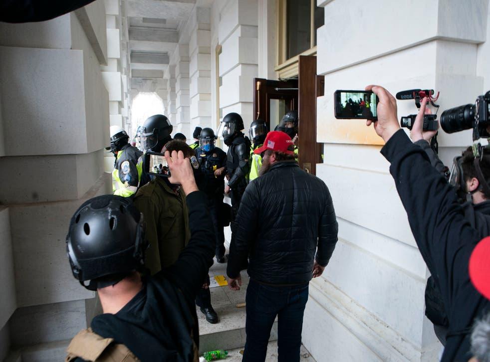 Capitol Breach Destroying Evidence