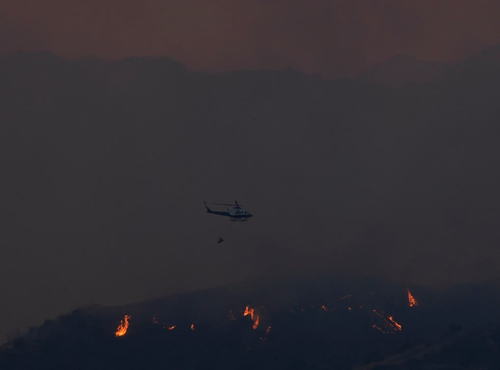 Cyprus Forest Fire