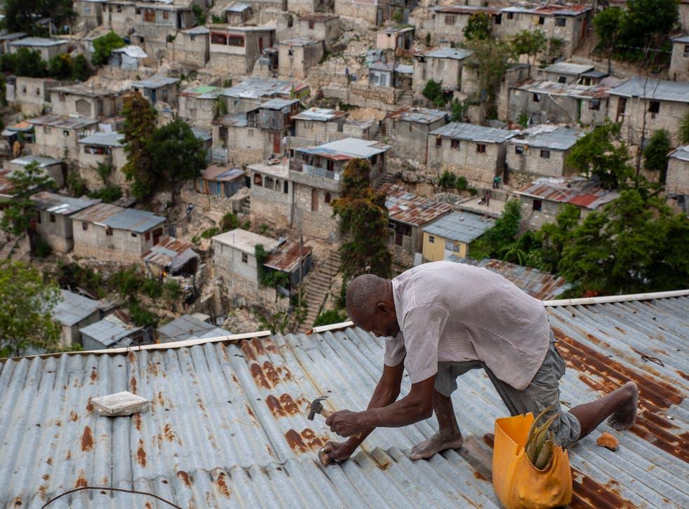 APTOPIX Haiti Tropical Weather Elsa