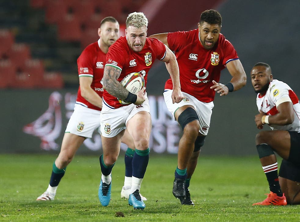 """<p>Stuart Hogg says the Lions are seeking to win the """"no talent battles""""</p>"""