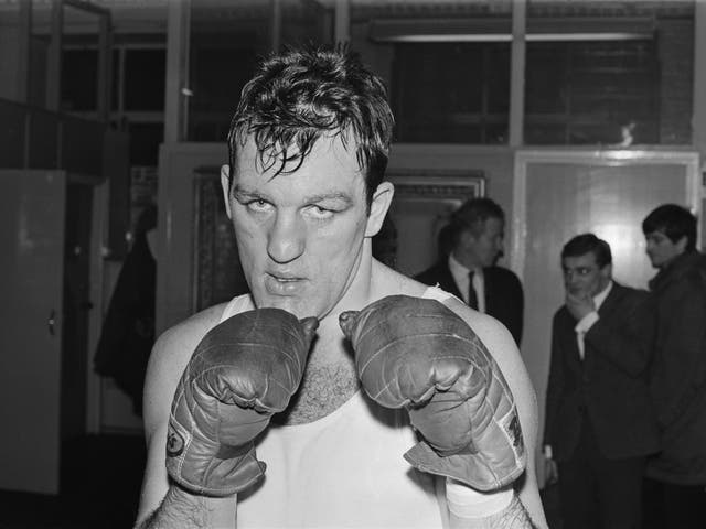 <p>The lantern-jawed boxer (pictured in 1968) was involved in a number of controversial fights during a 16-year professional career</p>