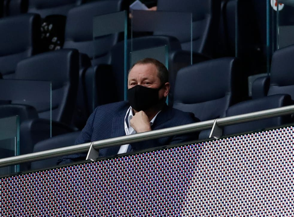 <p>Newcastle United owner Mike Ashley</p>