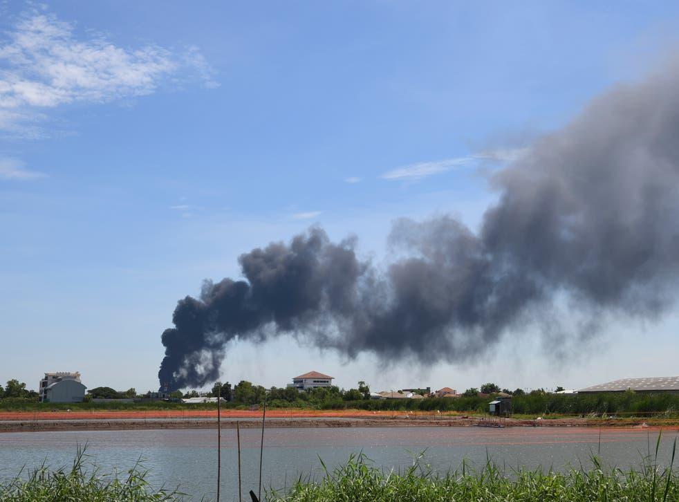 TAILANDIA-EXPLOSION