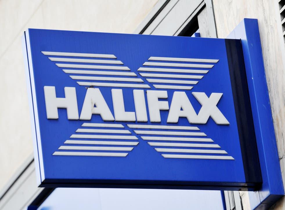 <p>A Halifax sign</p>