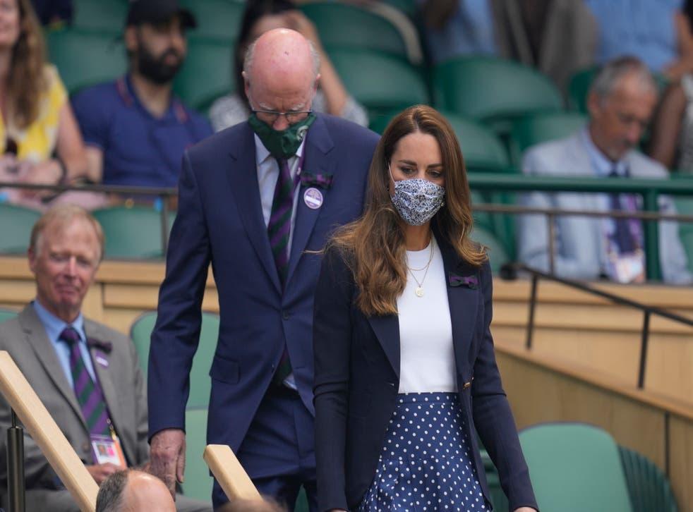 Duchess of Cambridge at Wimbledon