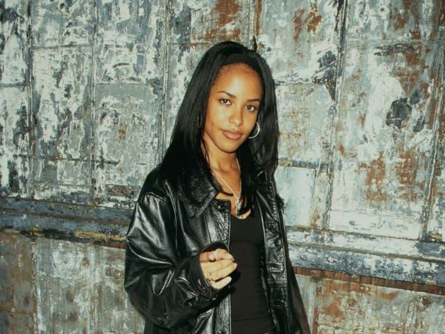 <p>Aaliyah en 1995</p>