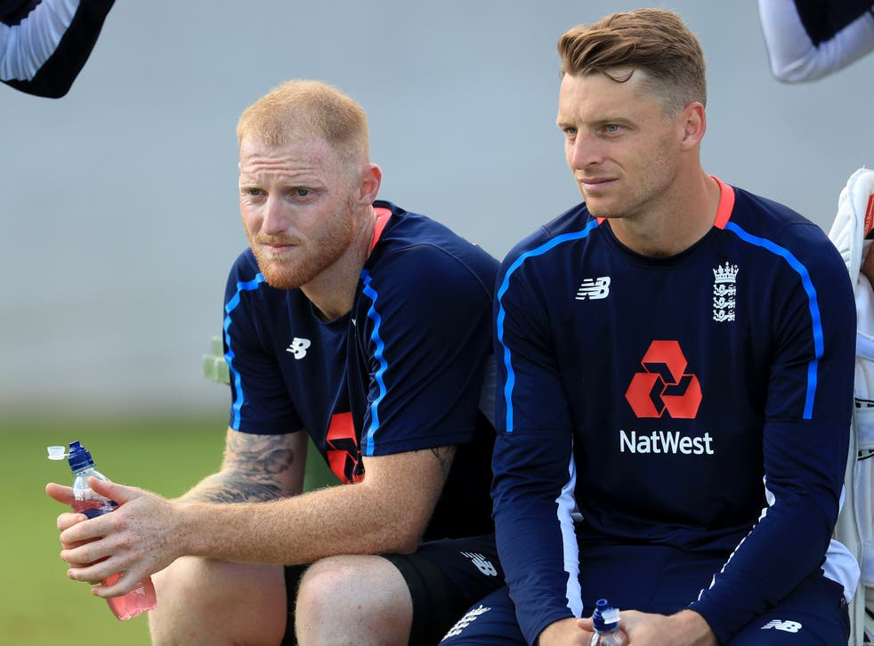 <p>England's Ben Stokes (left) and Jos Buttler have been sidelined by injury</p>