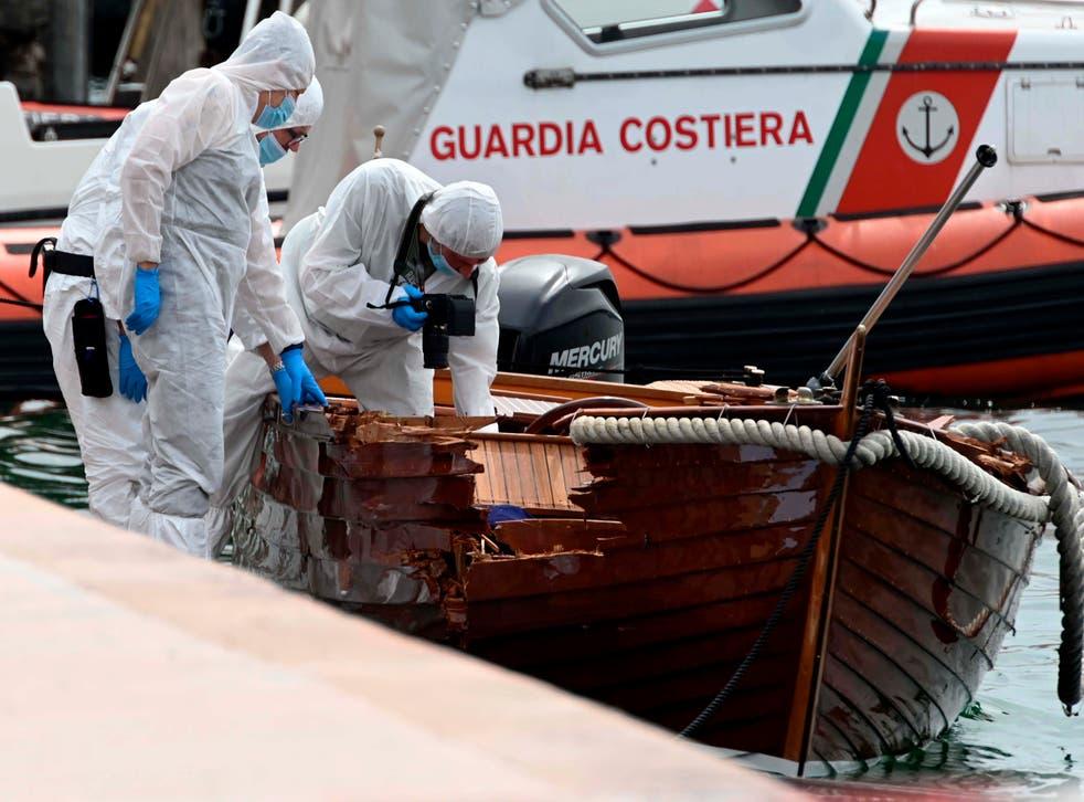Italy Germany Boating Crash