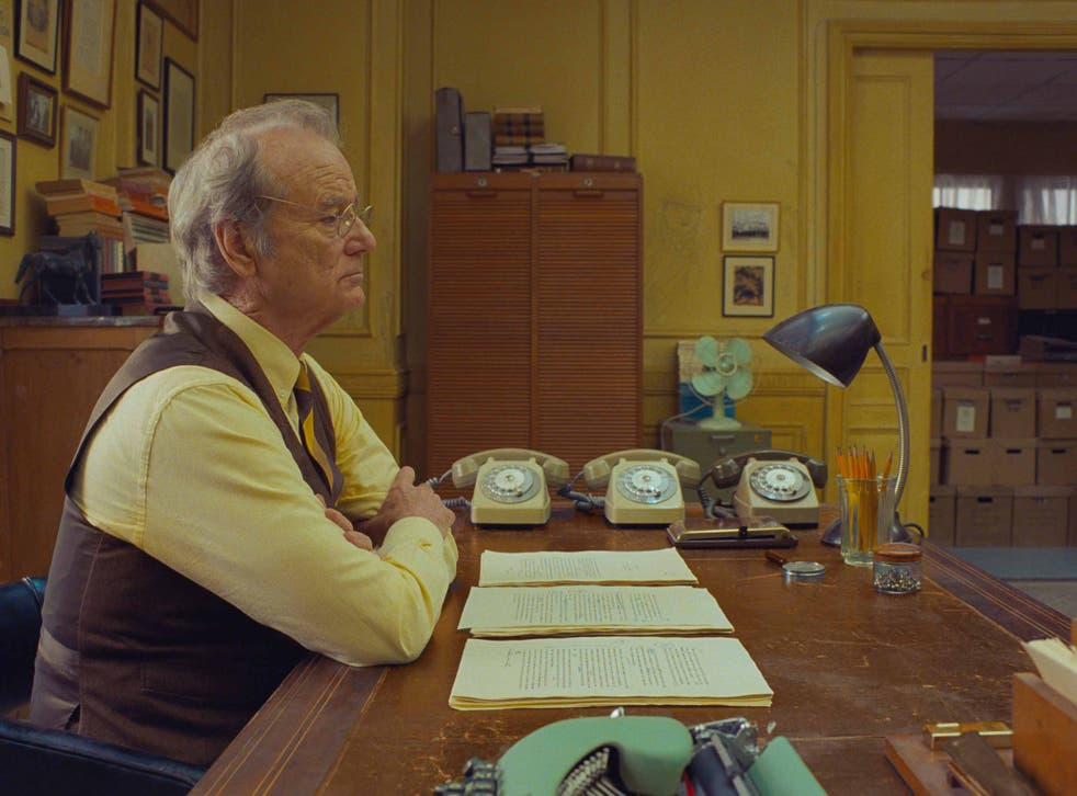 <p>Bill Murray in 'The French Dispatch'</p>