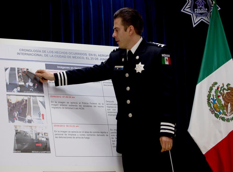 MÉXICO-POLICÍA DETENCIÓN