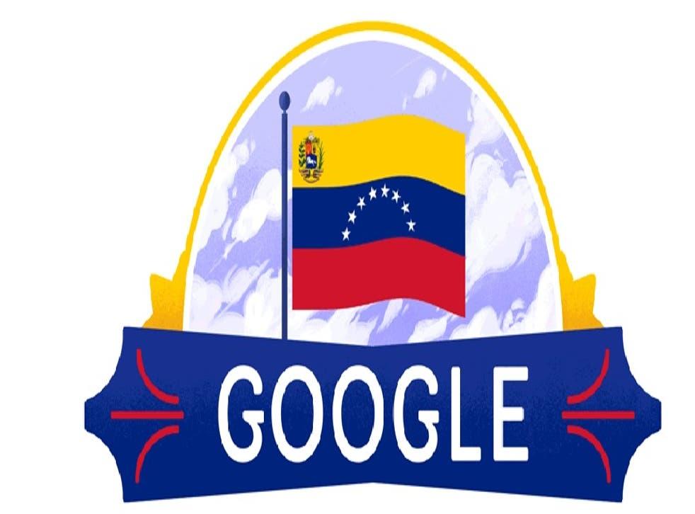<p>Google cambió su conocida imagen para conmemorar esta fiesta nacional venezolana</p>
