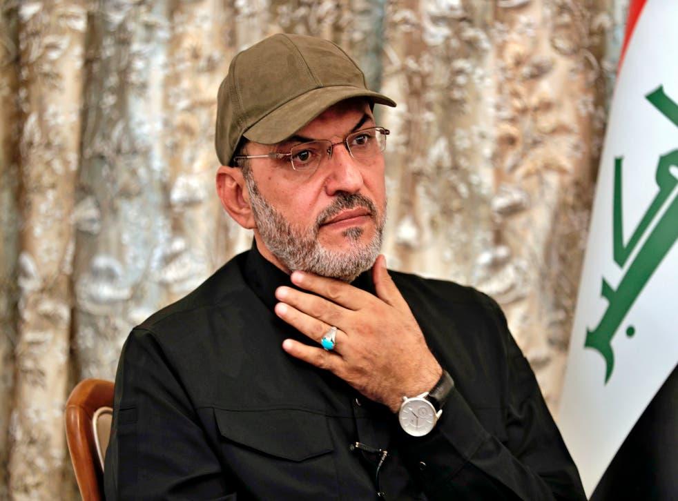 Iraq Militia Commander