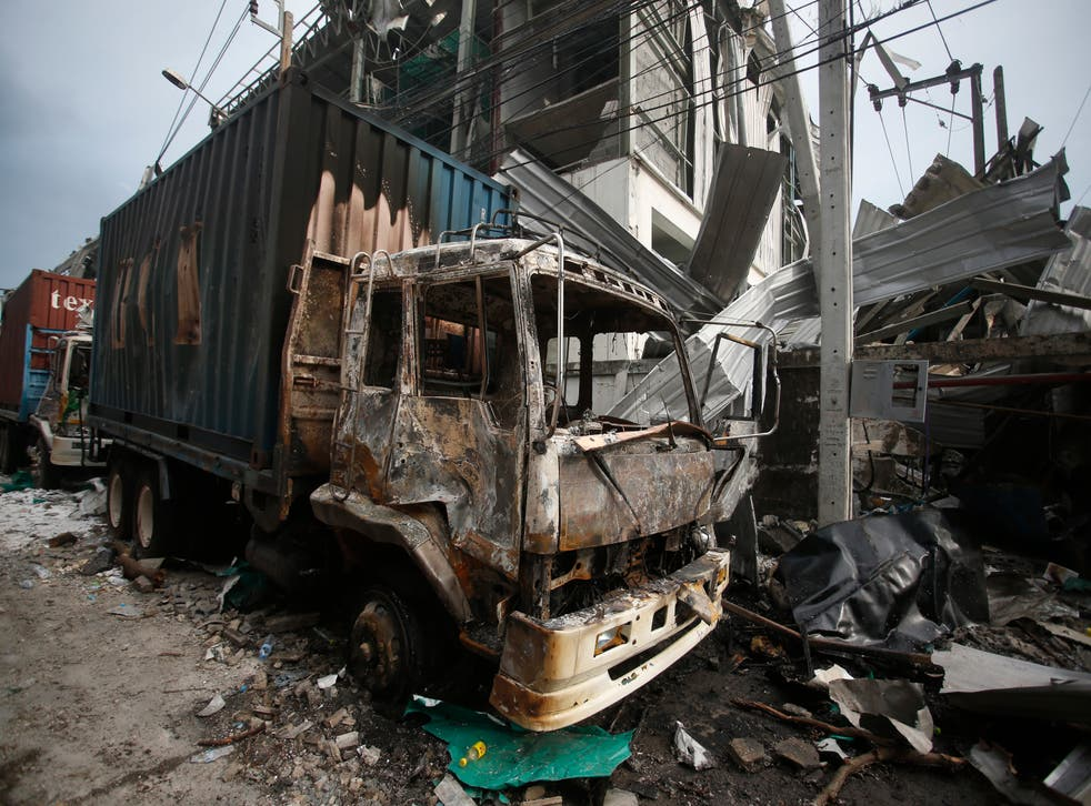 Thailand Factory Explosion