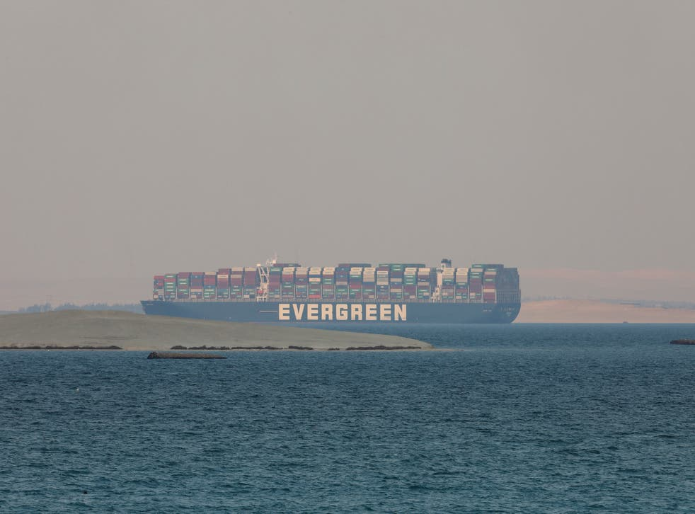 Suez Canal Vessel