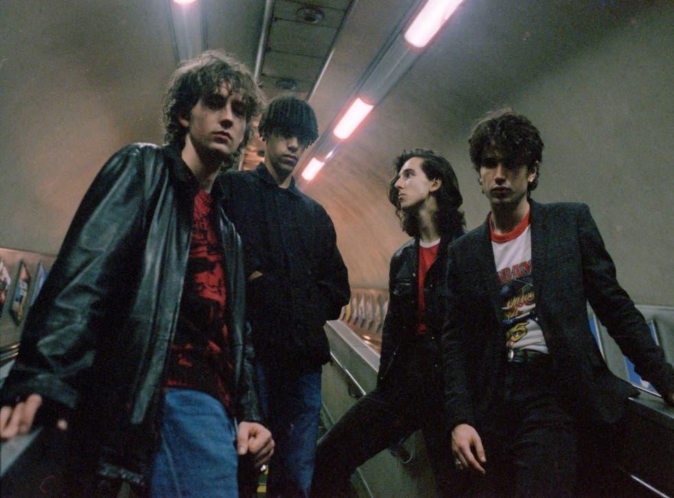 <p>Irish band Inhaler</p>