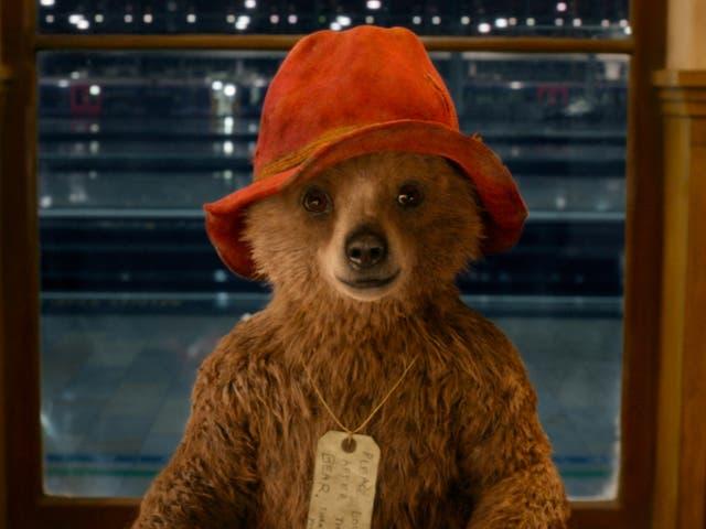 <p>Paddington Bear, as seen in the 2014 film 'Paddington'</p>