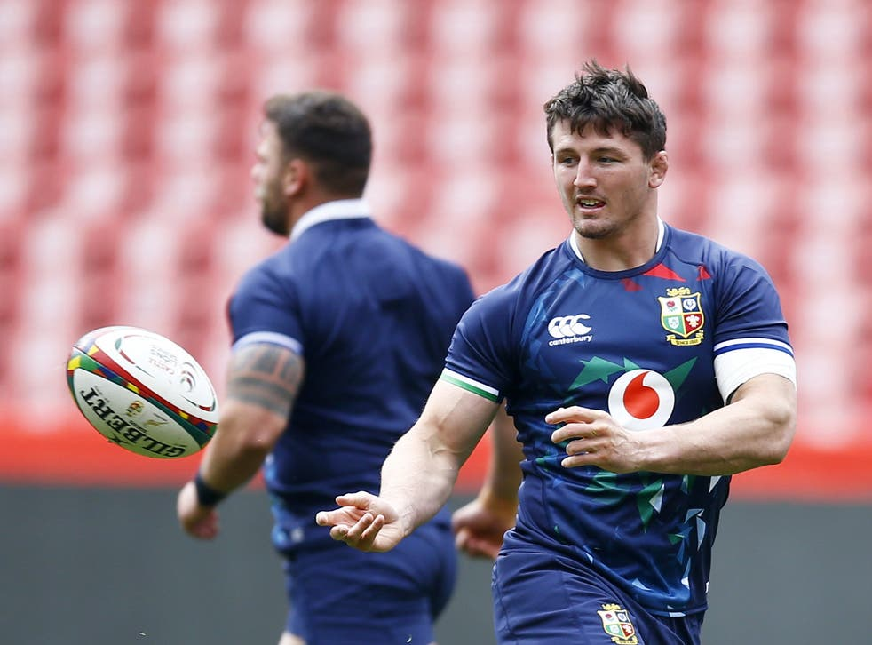 Lions 2021: Tom Curry relishing the competition for back row places | The  Independent