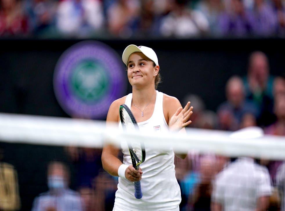 Ashleigh Barty beat Ajla Tomljanovic in straight sets