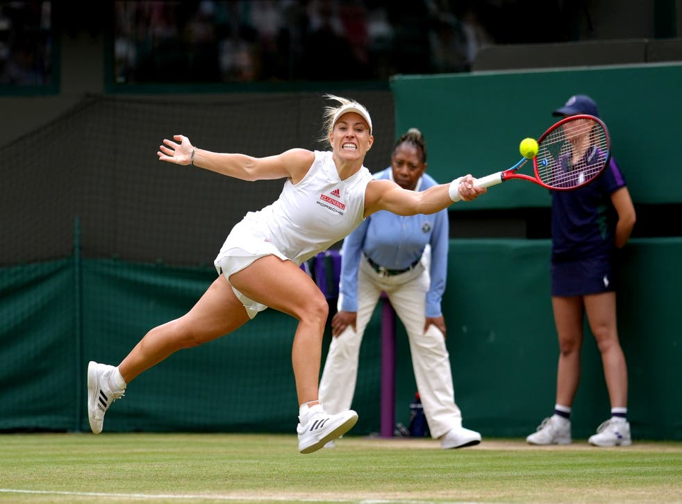 Angelique Kerber insists her self-belief never wavered during the tough times