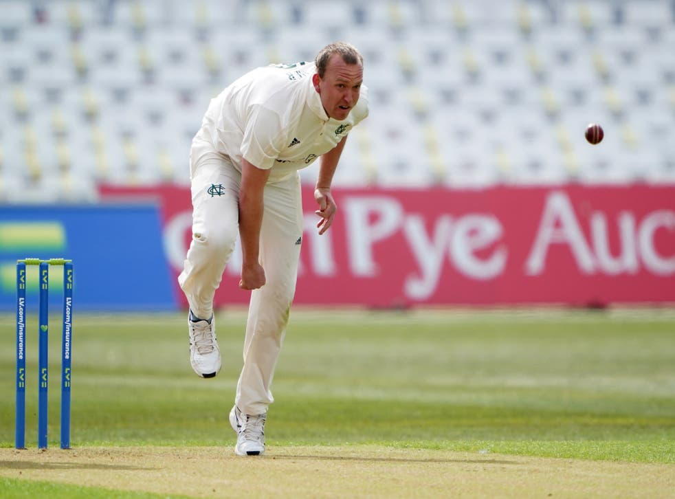 Luke Fletcher claimed five wickets as Nottinghamshire beat Derbyshire in the LV= Insurance County Championship