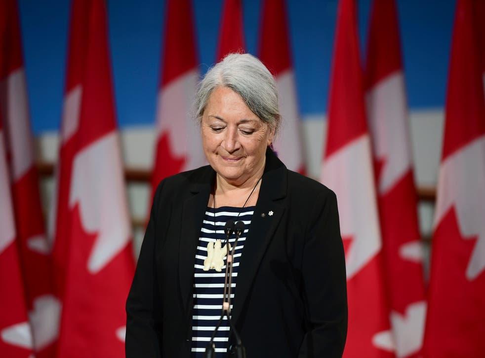 CANADA-GOBERNADORA GENERAL INDIGENA