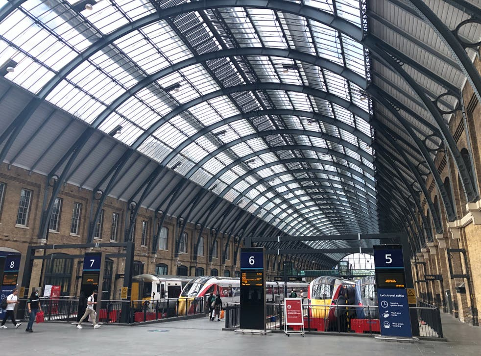 <p>Going places? King's Cross station in London, the terminus for the East Coast main line</p>