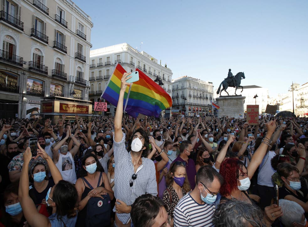 Samuel Luiz: Protests across Spain after gay man beaten to death | The  Independent