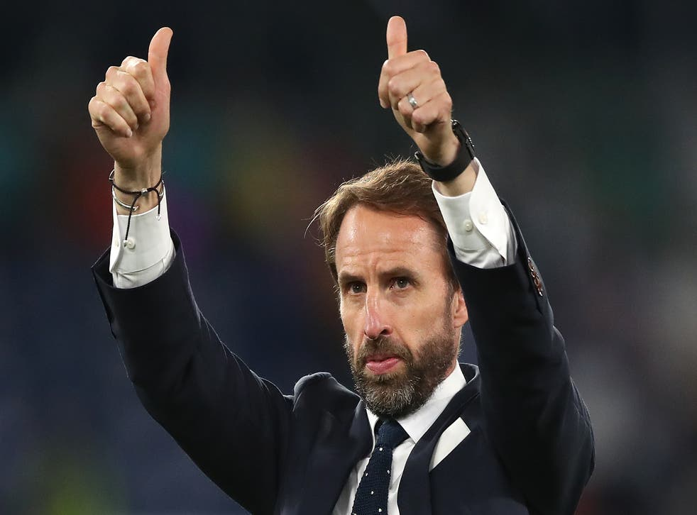 <p>England manager and unlikely lust object Gareth Southgate</p>