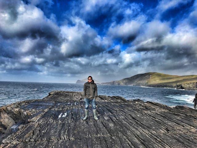 Dom Joly in Cornwall (Dom Joly/PA)