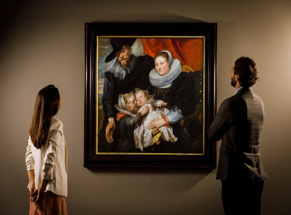 <p>Work by Sir Anthony van Dyck is expected to fetch up to £1.5m at auction</p>