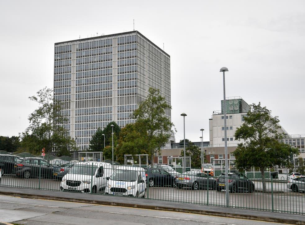 The DVLA in Swansea