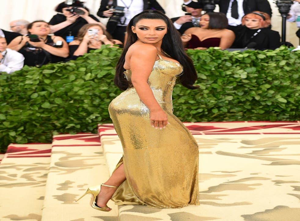Kim Kardashian West attending the Metropolitan Museum of Art Costume Institute Benefit Gala 2018