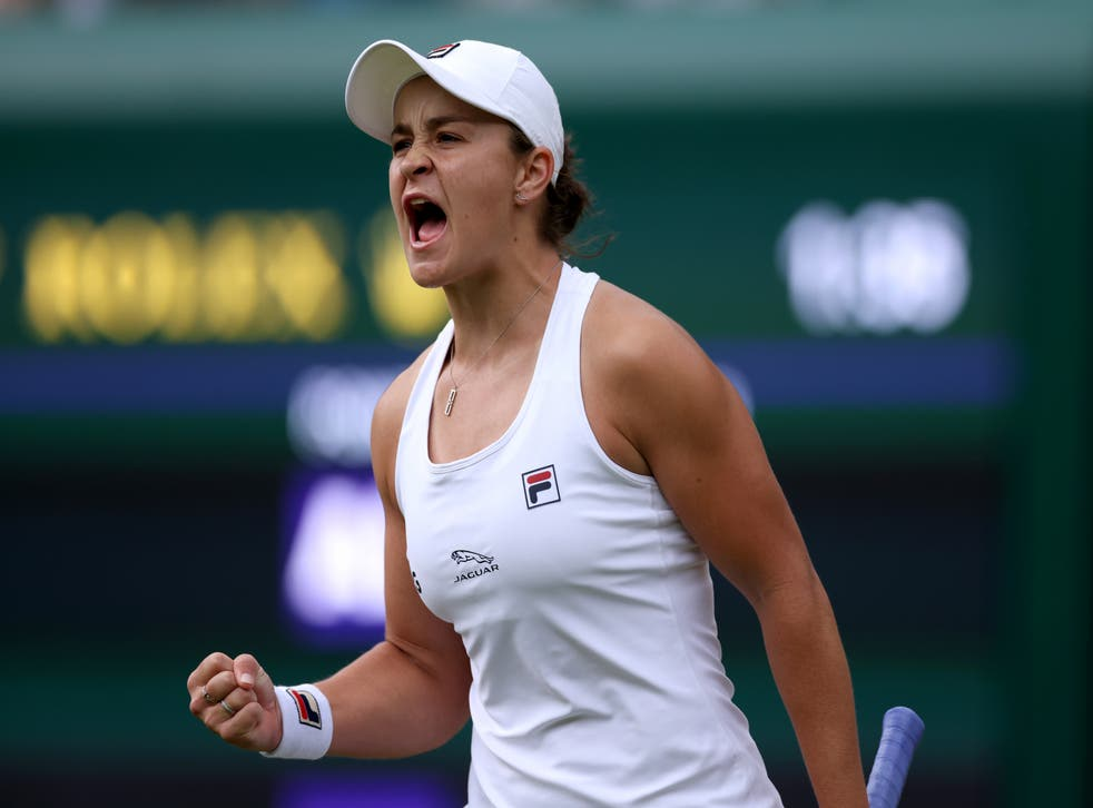 <p>World number one will be tested against Angelique Kerber in the Wimbledon semi-final</p>