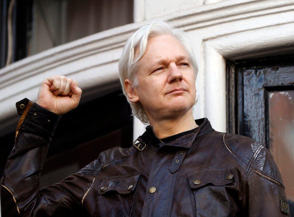 <p>Britain Assange</p>