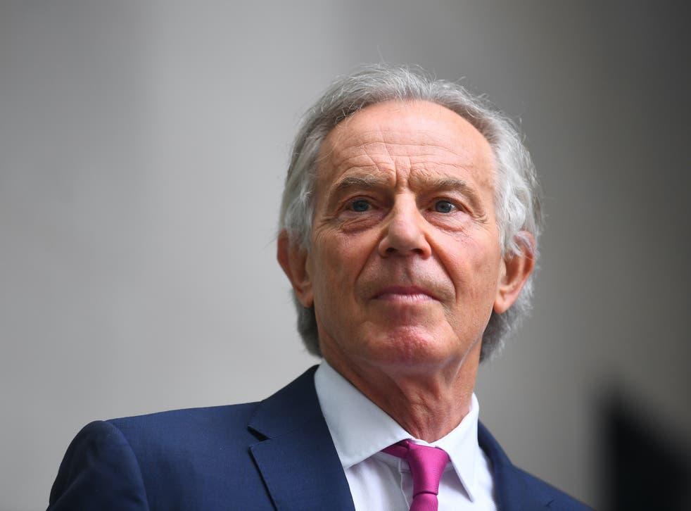 <p>Former Labour prime minister Tony Blair</p>