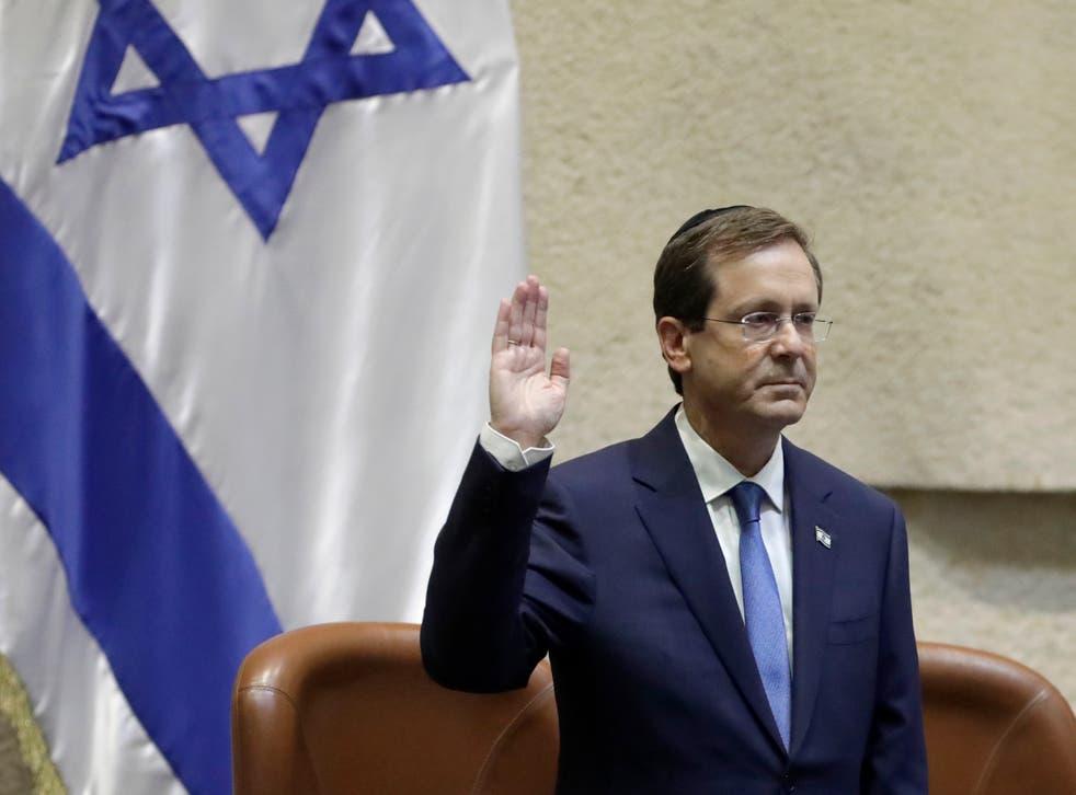 ISRAEL-NUEVO PRESIDENTE