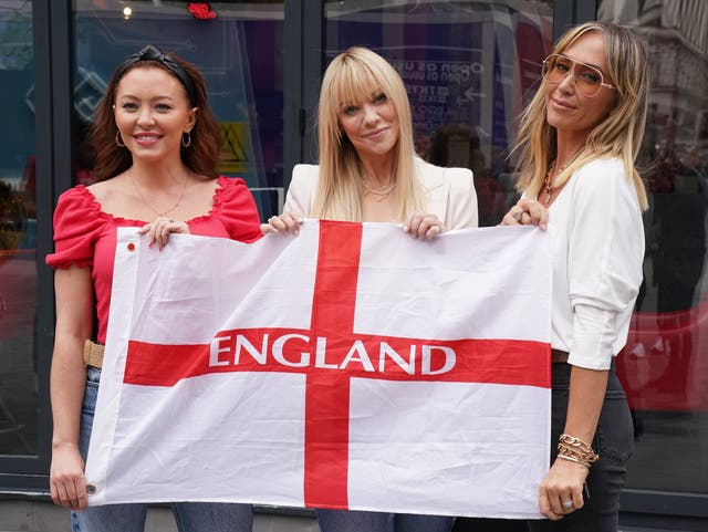 Atomic Kitten hopes football is coming home again