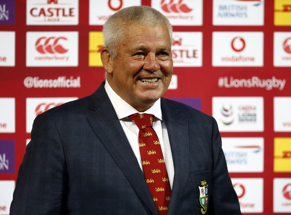 <p>Warren Gatland is convinced the Lions' Test series against South Africa will take place</p>